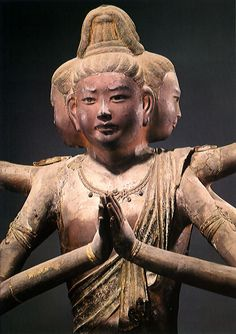 National Treasure of Japan, Asura statue : Nara period (710-794), property of Kofuku-ji Temple 興福寺-阿修羅像(国宝)