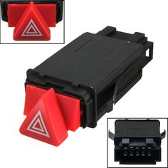 Hazard Warning Indicator Light Switch Red Button 4B0941509D For AUDI A6 4B C5