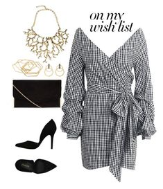"""#style #dress #style #black"" by dana-maria2 on Polyvore featuring PrimaDonna, Forever 21, Kenneth Jay Lane and Sorellina"