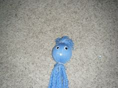 Blue Yarn Kids Made.