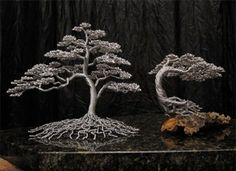 amazing cool awesome wire tree sculptures (4)