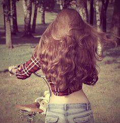 What I hope my hair will resemble when it gets long :) Beautiful Long Hair, Gorgeous Hair, Thick Hair Bob Haircut, Waist Length Hair, Long To Short Hair, Really Long Hair, Glam Hair, Hair Pictures, Big Hair