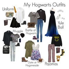 """Hogwarts Outfits"" by dr-hopepotterwho on Polyvore featuring Avenue, Xirena, Chicnova Fashion, Yves Saint Laurent, rag & bone, Topshop, Samantha Warren London, UGG Australia, Sleepy Jones and For Bare Feet"