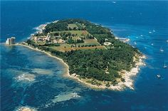St Honorat Island (Lerins Islands,near Cannes )