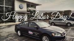 Happy Labor Day from Larry Roesch Volkswagen of Elmhurst/Bensenville!