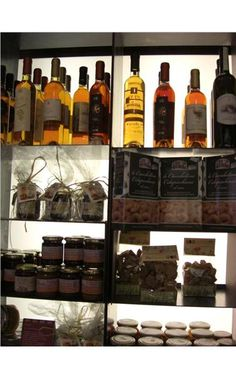 Enoteca Palatium, Rome -- a great place to buy regional food and wine to take back home.