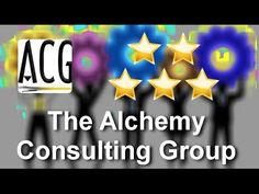 http://www.thealchemyconsultinggroup.com/ A 5 Star review of the business consulting client received from consultants at The Alchemy Consulting Group. Seeking a career or business coach, client chose Alchemy to help her market.    Call 877-978-2110.