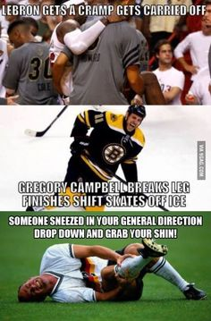 Hockey vs. Basketball vs. Soccer - http://geekstumbles.com/?p=31549