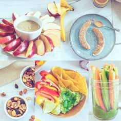 Earth and Spoon | These 5 healthy snacks are a fantastic way to combat the dreaded afternoon slump. All the recipes are vegan, dairy free, gluten free, sugar free and kid friendly.  A far cry from bland, boring rabbit food, these deliciously moreish snacks are bound to revamp your approach to snacking for-eva. #healthysnacksforkids #easyhealthysnacks #healthysnacksideas #healthysnacksrecipes #healthysnacksonthego Dairy Free Recipes, Vegetarian Recipes, Snack Recipes, Gluten Free, On The Go Snacks, Healthy Snacks For Kids, Pantry Items Recipe, Chocolate Almond Butter Recipe, Sin Gluten