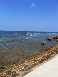 Sunabe Seawall. Okinawa