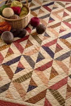 Martingale - Strip-Smart Quilts I really like these fall colors alternated with the cream and the secondary design the blocks make. by Wigsbuy-reviews