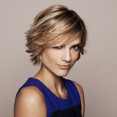 Great short hair cut!_when I start growing out my short hair.