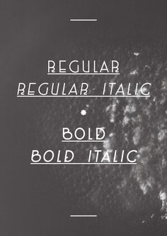 400ml Type Free Font by Marco Terre