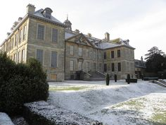 Belton House in snow by Tim Laughton
