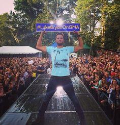 #LukeBryanOnGMA