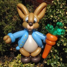 Day 207: Hoppy Easter from Peter Cottontail