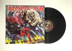 Iron Maiden The Number Of The Beast LP Album by CharmCityRecords
