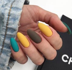 35 summer can also be recommended with Frosted nail style nails;summ… 35 summer can also be recommended with Frosted nail style nails; Aycrlic Nails, Matte Nails, Nail Manicure, Teal Nails, Glitter Nails, Stylish Nails, Trendy Nails, Nail Design Spring, Nails Design Autumn
