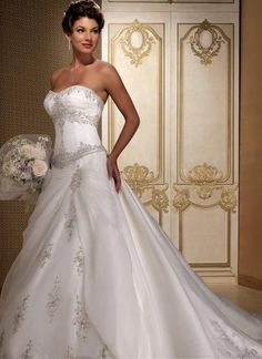 wedding dresses princess wedding dresses with straps wedding dresses mermaid a-line/princess sweetheart cathedral bridal gown