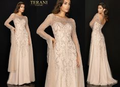 TERANI COUTURE 2011M2169 authentic dress. FREE FEDEX. BEST PRICE   eBay Terani Couture, Formal Dresses, Wedding, Free, Ebay, Fashion, Dresses For Formal, Valentines Day Weddings, Moda