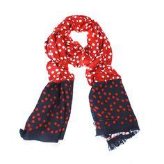 bright scarf