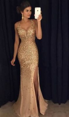 Sex beaded long prom dress. Follow @satvikaputcha for more