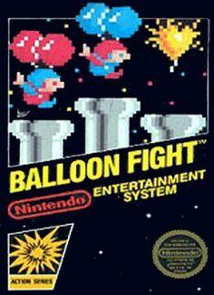 NES Games - Balloon Fight