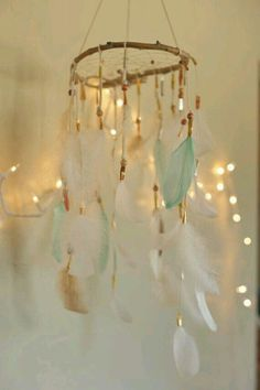 This is too cute dream catcher I want thisss!!!♥♥                                                                                                                                                                                 More