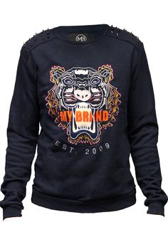 TIGER SWEATER NAVY