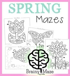 Celebrate the changing seasons with these fun seasonal mazes and activity pages.  We've got a great collection of worksheets you can use in your homeschool or classroom.  There is a maze for all seasons!  Don't miss our Holiday Mazes & Activity Pages Here