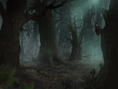 misty forest wallpaper - Google Search