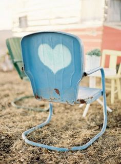 vintage chair. This is one of good bouncy kind!