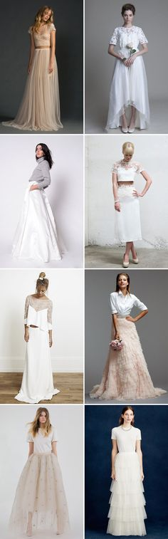 A Hot Trend for 2015   Bridal Separates   www.onefabday.com