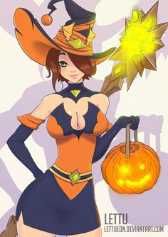 Evie Bewitching by Llettuedn