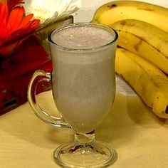 Sweet Dream Smoothie....1/2 cup warm milk,  1/2 banana (room temp),1/4  tsp(dash)cinnamon,1/2 tsp vanilla extract,1 tsp maple syrup or honey......Combine milk, banana, cinnamon, vanilla extract, and maple syrup or honey in a blender and whirl until frothy and smooth. Drink before going to bed. ( I would use soy milk for myself and see if it's ok...)
