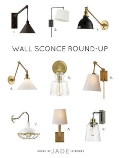 Adding Wall Sconces in Your Home - House of Jade Interiors Blog