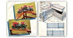 Deck Planter Plans - Outdoor Plans and Projects | WoodArchivist.com