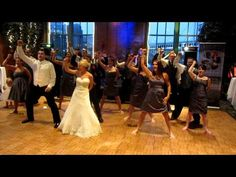 Dirty bit WEDDING flash mob - Black Eyed Peas - The Time (Dirty bit)    AMAZING i hope my wedding is this much fun..whenever that day comes