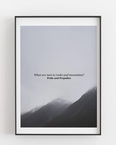 Pride and Prejudice quote over photograph of Aoraki/Mount Cook National Park, New Zealand digital print Pride And Prejudice Quotes, Mount Cook, Printable Quotes, Jane Austen, New Zealand, Physics, Digital Prints, National Parks, Finding Yourself