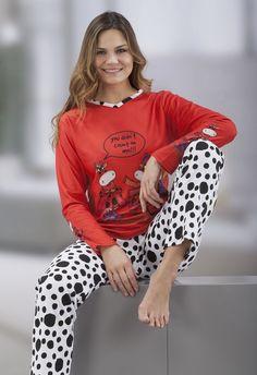 Pijama señora Massana vaca www.perfumeriaelajuar.com Sexy Pajamas, Cute Pajamas, Girls Pajamas, Pajamas Women, Pyjamas, Pjs, Night Suit, Night Gown, Womens Pj Sets
