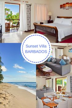 Relax in style at this modern 2-bedroom vacation home with ocean views and private plunge pool, located on the tranquil west coast of Barbados