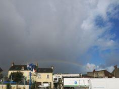 Arc-en-ciel/Rainbow_Port-en-Bessin (France)_2014-08-11_09h41 © Hélène Ricaud-Droisy (HRD)