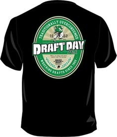 Wally D. Fantasy Football Gear presents Draft Day Ale to acknowledge the fact that some of us may have had too much to drink on draft day. Draft Day Ale - Traditionally Overconsumed and Wrecking Fantasy Football Drafts since 1962.