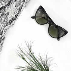 Vintage Retro Fashion Tip Pointed Large Womens Cat Eye Sunglasses Retro Fashion Tips, Tom Ford, Glasses For Round Faces, Sunglasses Accessories, Fashion Accessories, Fendi, Gucci, Bling Shoes