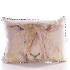 Mr Wooly, Mini Cushion by Voyage Maison