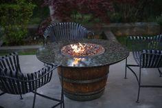 the incredible wine barrel table bobreuterstlcom arched napa valley wine barrel table