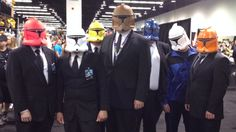 #StarWars #GeekMopment : STAR WARS CELEBRATION 2015 Cosplay - Reservoir Troopers!