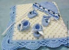 Crochet Bedspread Patterns Part 8 - Beautiful Crochet Patterns and Knitting Patterns Crochet Bedspread Pattern, Baby Afghan Crochet, Crochet Bebe, Baby Afghans, Crochet For Boys, Crochet Blanket Patterns, Love Crochet, Baby Patterns, Baby Blankets