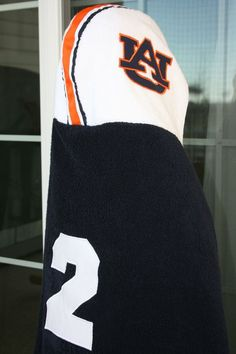 football hooded towel...love it!