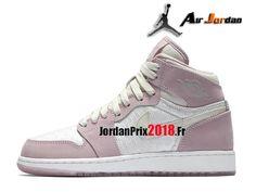 buy online c00aa 6c315 Chaussure Basket Jordan Prix Pour Femme Air Jordan 1 Retro GS Collection  d´héritiers 832596 025